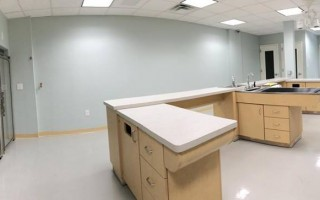 Inside the clinic treatment room